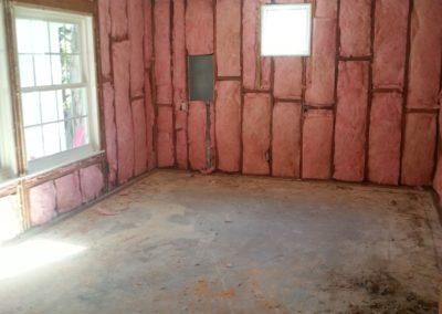 walls insulation